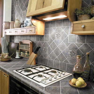 Countertop Designs on Photos Of Ceramic Tile And Natural Stone For Countertops And Baths